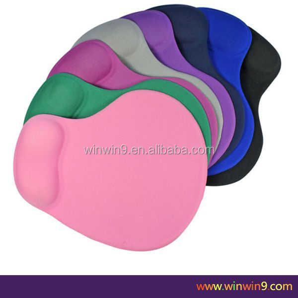 Hot Seller-Gel mousepad with wrist support/promotion mouse pad