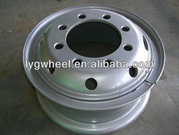 7.50-20 truck wheels, auto spare parts, wheels for 10.00-20 tire