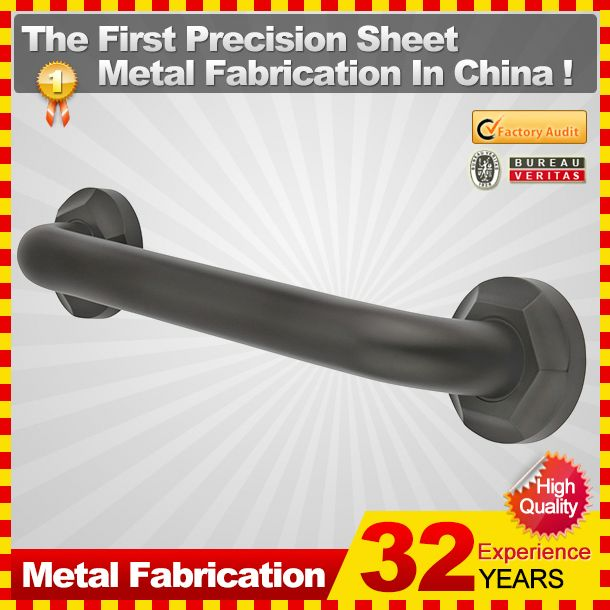 2014 professional customized decorative grab bar /disabled grab bar