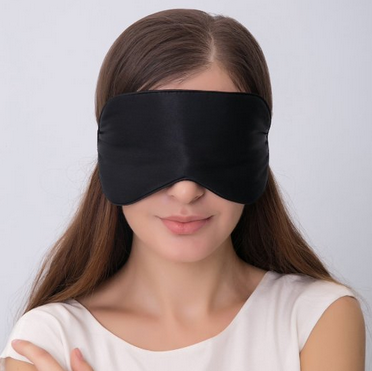 Natural silk sleep mask & blindfold, super-smooth eye mask from china
