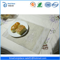 Food grade design dining table place mats made in china