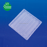 white color PP material plastic leisure food tray