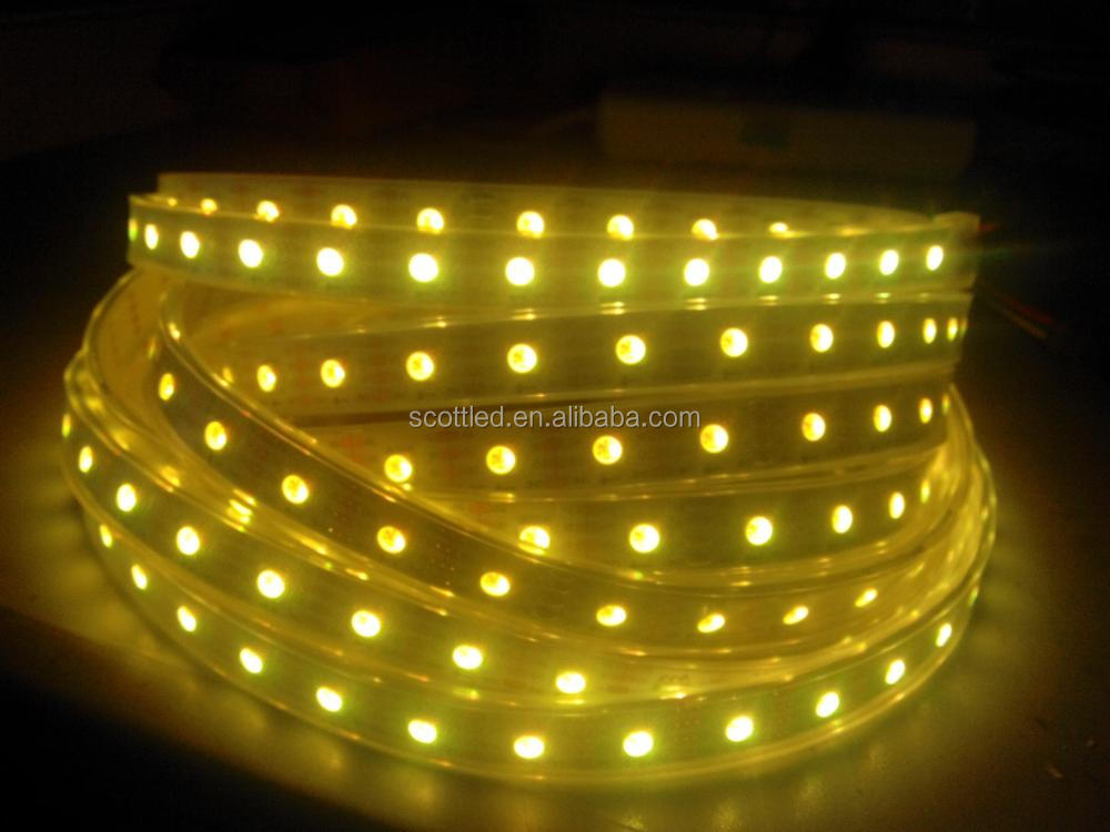APA102 60led IP67 Waterproof addressable white led strip/addressable led christmas light