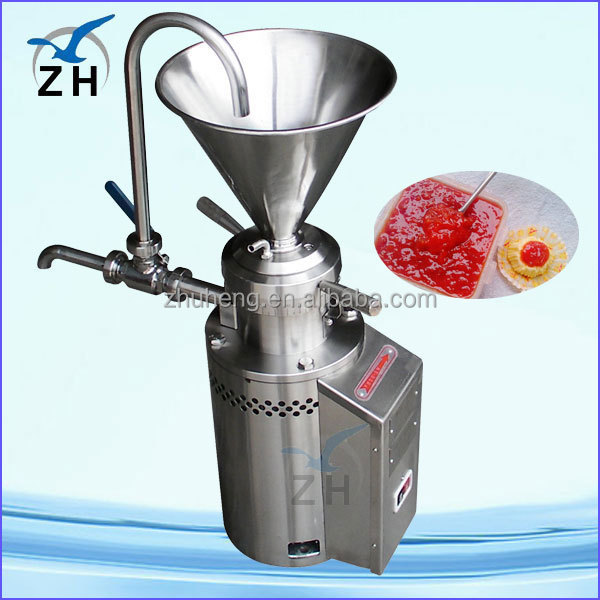 colloid mill for viscous liquids penut mill