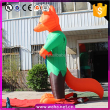 Giant inflatable fox cartoon for event party advertising