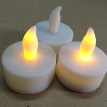 Wholesale Wedding Decoration Electronic Flameless Flickering LED Tea Light