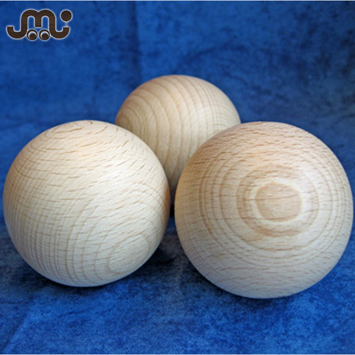 Wholesale handmade quality wooden stick handling ball