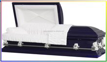 Galaxy Purple China Made High Quality Funeral Casket For Sale