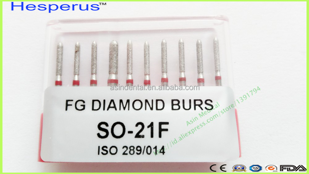 High Speed Handpiece Medium FG 1.6M Brand New Dental Diamond Burs