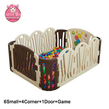 Baby Playpen Kids 6+4+2 Safety Play Center Yard Home Indoor Outdoor New Pen