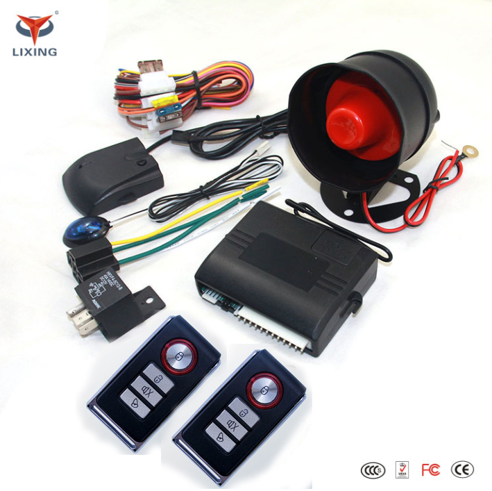 Universal car immobilizer anti-hijacking car alarm security system