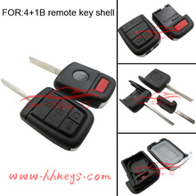 Folding car key cover 4+1 buttons remote key shell for Chevrolet