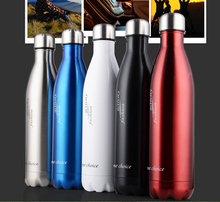 2015 hot selling design 304 stainless steel vacuum flask/vacuum insulation coke bottle