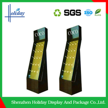 High Quality Cardboard Corrugated Cell Phone Accessories Display Rack Factory Supply