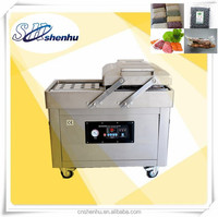 DZ600/2C dual-chamber plastic bag vacuum packaging machine,package sealing&shrinking sealer&shrinker equipment food