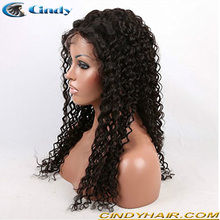 China supplier cheap price 100% unprocessed brazilian virgin remy human hair full lace wigs with baby hair for black women