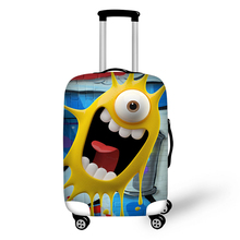 Custom Design Elastic Stretch Spandex Luggage Protective Cover,Trolley Bag Suitcase Covers