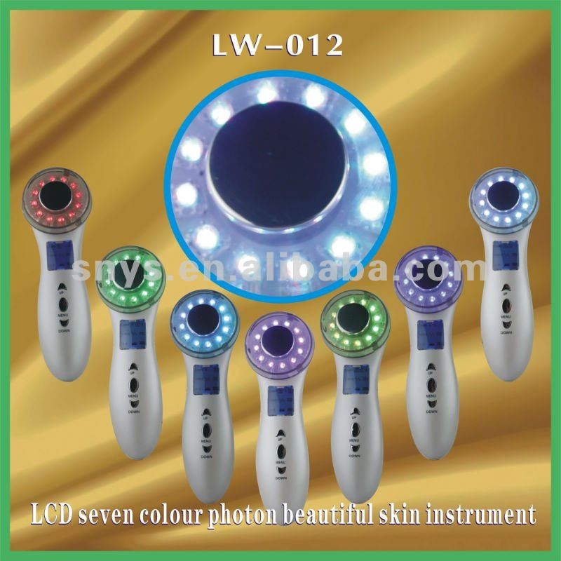 LCD Color Photon Skin Rejuvenation Beauty Equipment(LW-012)