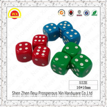 Factory engrave printed casino custom funny 16mm 10mm dice