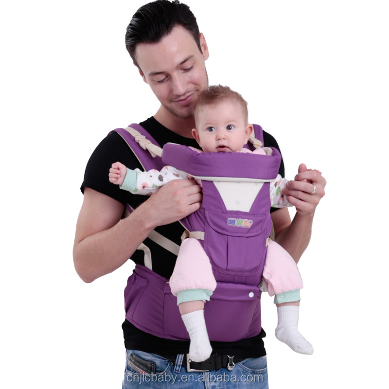 best seller multifunctional 4 in 1 oxford kangaroo baby carrier