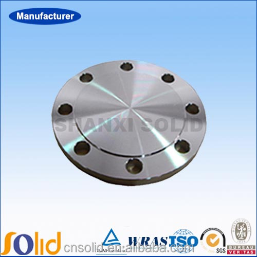 ANSI B16.5/DIN stainless steel blind flange for industry
