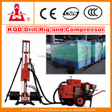 Second hand high quality pneumatic crawler rock drilling rig