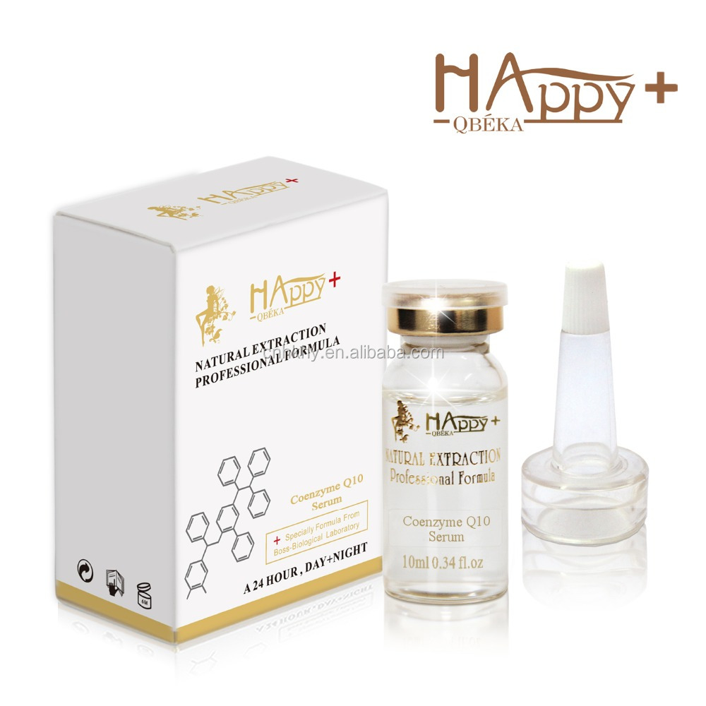 Happy+ <strong>Q10</strong> Anti Aging Serum - For Aging Skin - For Wrinkle Face