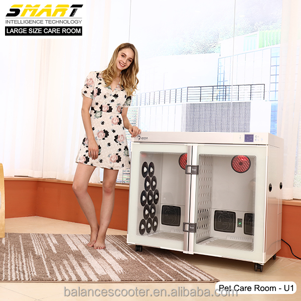 Professional cabinet dryer two doors compartment pet dryer machine <strong>mobile</strong> pet grooming near me