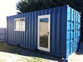 20ft Modified and portable container outbuildings