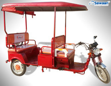4 seats yufeng design indian electric rickshaw