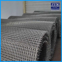 High quality iron wire crimped wire mesh