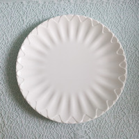 cheap products big size melamine flower shape tray P7100