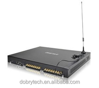 Wholesale and retail Dinstar 16 ports GOIP gsm voip gateway DWG2000F-16G with SIP and IEMI modify