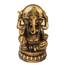Indian Resin Ganesh Statue Decorative Ganesha God Idol