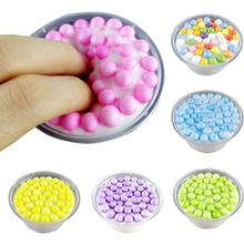 Fluffy Floam for Slime Colorful Beads Mud Scented Stress Relief Kid Toys Vent Clay Toys Plasticine Fluffy for Slime