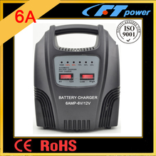 motorcycle scooter electric bicycle battery charger 6V 12V car battery charger automatic battery charger