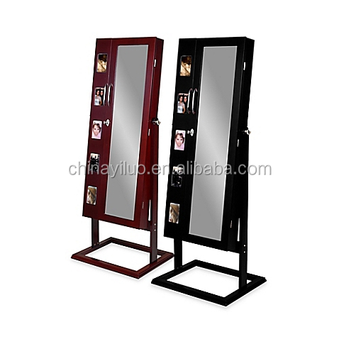 2017 new style FSC Certificated Standing Jewelry Armoire