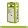 4 Sides Stainless Steel Vegetable slicer Grater,Mini manual kitchen tower grater,4 Sides Portable Stainless Steel Cheese Graters