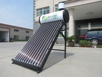 Compact Non Pressure Color Steel Solar Water Heater,solar energy