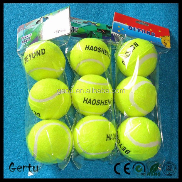 Promotional Training gift 3pcs packed tennis ball