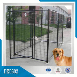 High Quality Big Style Powder Coated Dog Kennel, Dog Cages
