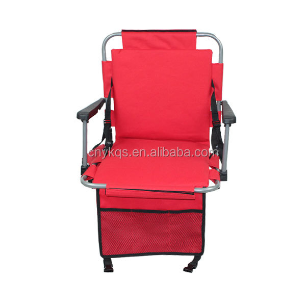 wholesale Deluxe Beach Seats hot sale football Cushion Used chair portable Folding Stadium chair Seat