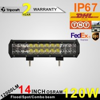 2PCS/LOT! 120W 4D LED DRIVING LIGHT Worklight for Motorcycle Tractor Boat 4WD Off road Truck SUV