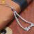 love shape cz bracelet sterling silver fine jewelry