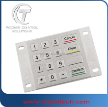 304 Stainless Steel telephone entry systems keypad