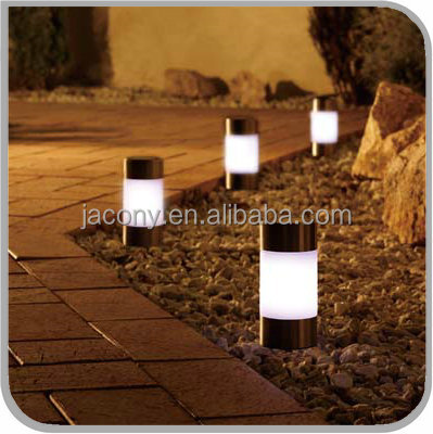Outdoor Garden Solar LED Lawn Fence Light Lamp Post Deck Winter Best Power New Outdoor Garden (JL-8501)