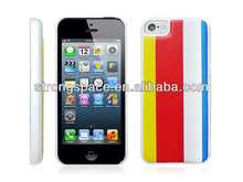 new product for iphone 5c leather cases from competitive factory