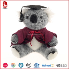 2015 cute and popular koala plush toy Chinese manufacture in Sedex quality
