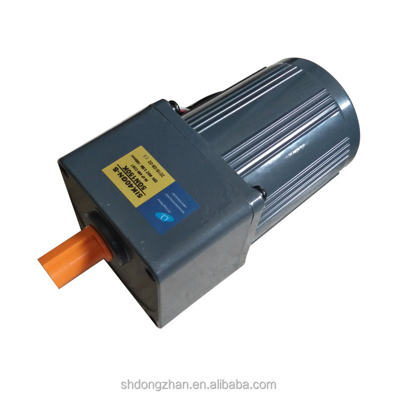 180W 100mm High Torque Low rpm 120v Electric Motor