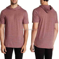 100% Polyester Wholesale Blank T-shirts Hooded Tee Shirts American Apparel T-shirts